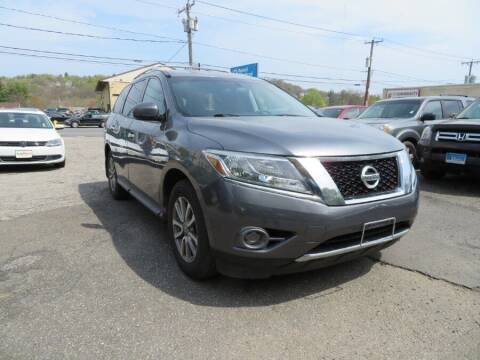 2015 Nissan Pathfinder for sale at Auto Match in Waterbury CT