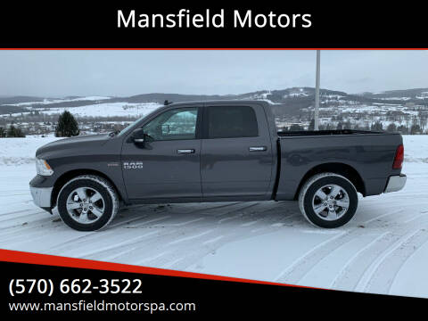2017 RAM Ram Pickup 1500 for sale at Mansfield Motors in Mansfield PA