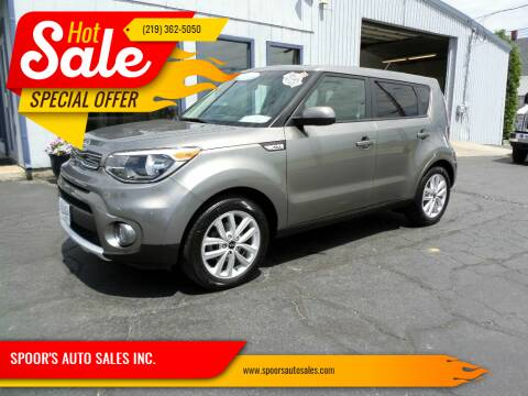 2018 Kia Soul for sale at SPOOR'S AUTO SALES INC. in La Porte IN