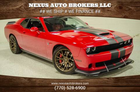 2017 Dodge Challenger for sale at Nexus Auto Brokers LLC in Marietta GA