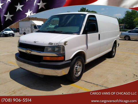 2011 Chevrolet Express Cargo for sale at Cargo Vans of Chicago LLC in Mokena IL