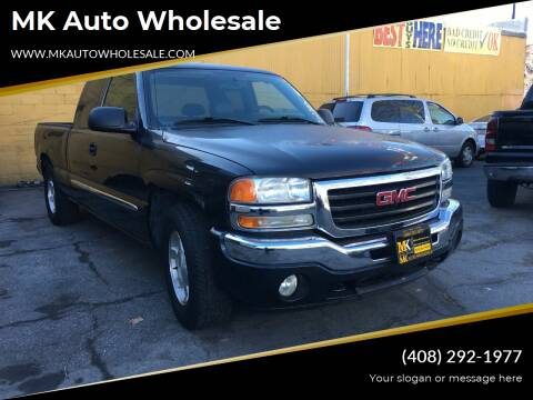 2005 GMC Sierra 1500 for sale at MK Auto Wholesale in San Jose CA