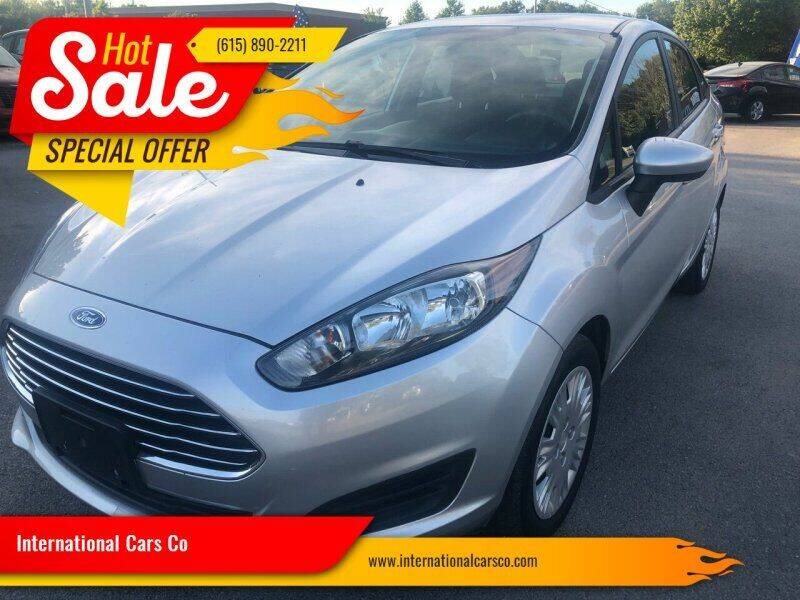 2015 Ford Fiesta for sale at International Cars Co in Murfreesboro TN