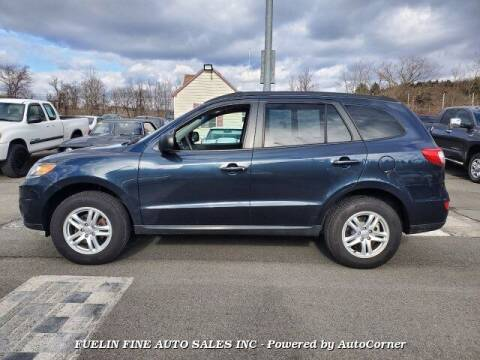 2012 Hyundai Santa Fe for sale at FUELIN FINE AUTO SALES INC in Saylorsburg PA