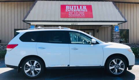 2013 Nissan Pathfinder for sale at Butler Enterprises in Savannah GA