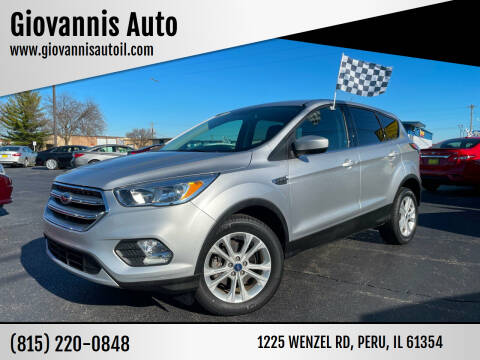 2017 Ford Escape for sale at Giovannis Auto in Peru IL