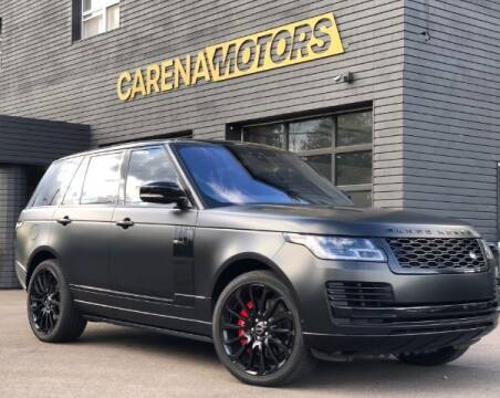 2018 Land Rover Range Rover for sale at Carena Motors in Twinsburg OH
