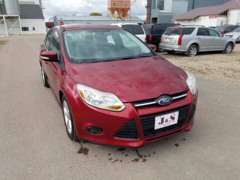 2014 Ford Focus for sale at J & S Auto Sales in Thompson ND