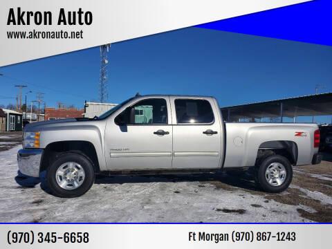 2010 Chevrolet Silverado 2500HD for sale at Akron Auto - Fort Morgan in Fort Morgan CO
