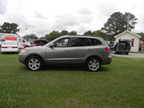 2008 Hyundai Santa Fe for sale at SeaCrest Sales, LLC in Elizabeth City NC