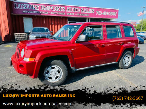 2010 Jeep Patriot for sale at LUXURY IMPORTS AUTO SALES INC in North Branch MN