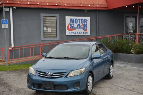 2013 Toyota Corolla for sale at Motor Car Concepts II - Kirkman Location in Orlando FL
