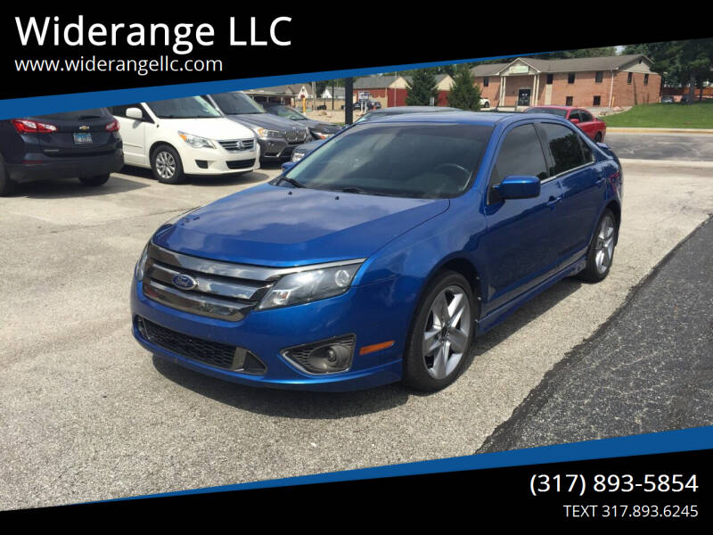 2011 Ford Fusion for sale at Widerange LLC in Greenwood IN
