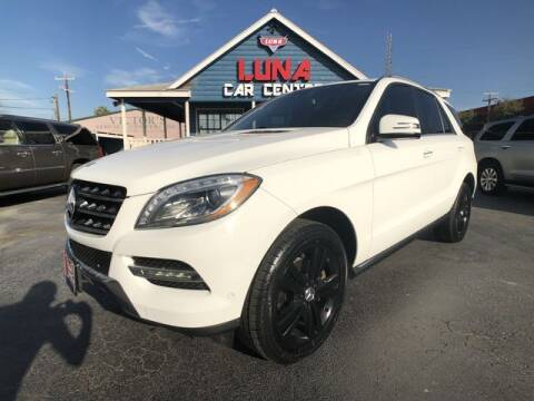 2014 Mercedes-Benz M-Class for sale at LUNA CAR CENTER in San Antonio TX