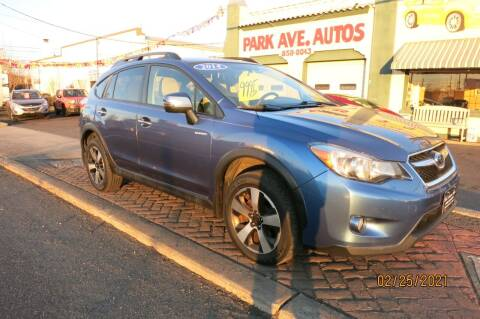 2014 Subaru XV Crosstrek for sale at PARK AVENUE AUTOS in Collingswood NJ