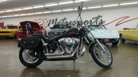 2005 Harley-Davidson FXST Softail for sale at 121 Motorsports in Mt. Zion IL