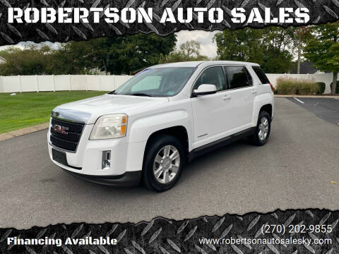 2011 GMC Terrain for sale at ROBERTSON AUTO SALES in Bowling Green KY