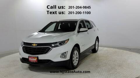 2018 Chevrolet Equinox for sale at NJ State Auto Used Cars in Jersey City NJ