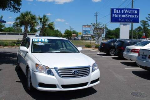 2008 Toyota Avalon for sale at BlueWater MotorSports in Wilmington NC