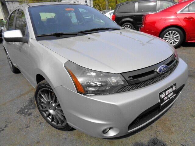 2011 Ford Focus for sale at Yosh Motors in Newark NJ