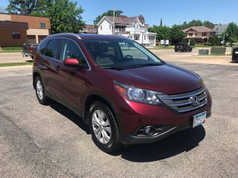 2014 Honda CR-V for sale at Carney Auto Sales in Austin MN