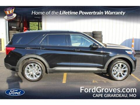 2021 Ford Explorer for sale at JACKSON FORD GROVES in Jackson MO