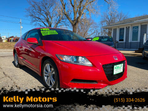 2011 Honda CR-Z for sale at Kelly Motors in Johnston IA