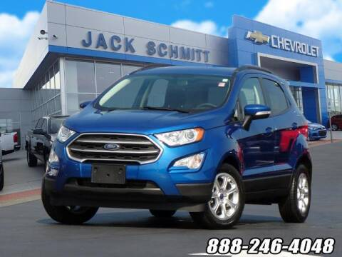 2019 Ford EcoSport for sale at Jack Schmitt Chevrolet Wood River in Wood River IL