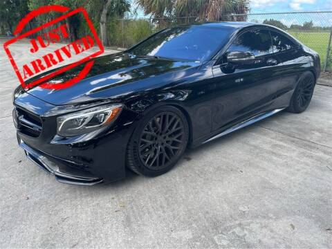 2015 Mercedes-Benz S-Class for sale at Florida Fine Cars - West Palm Beach in West Palm Beach FL