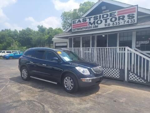 2012 Buick Enclave for sale at EASTSIDE MOTORS in Tulsa OK