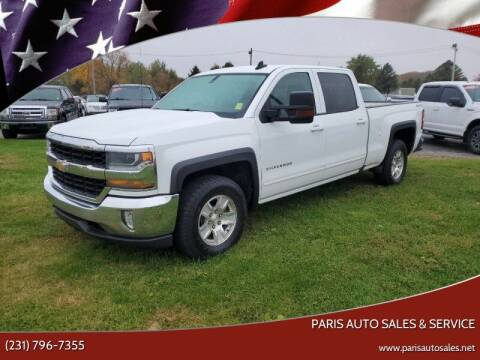 2017 Chevrolet Silverado 1500 for sale at Paris Auto Sales & Service in Big Rapids MI