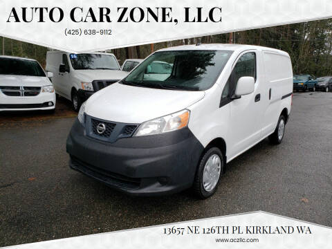 2015 Nissan NV200 for sale at Auto Car Zone, LLC in Kirkland WA