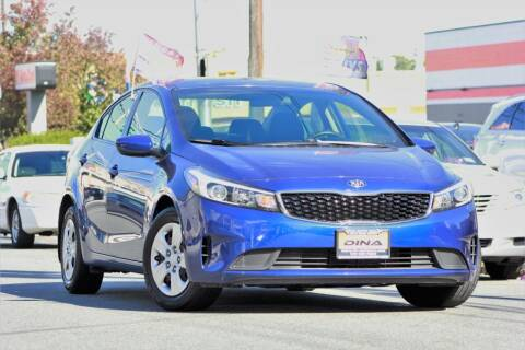 2017 Kia Forte for sale at Dina Auto Sales in Paterson NJ