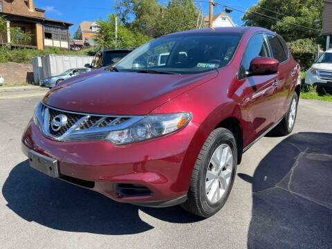 2011 Nissan Murano for sale at Fellini Auto Sales & Service LLC in Pittsburgh PA