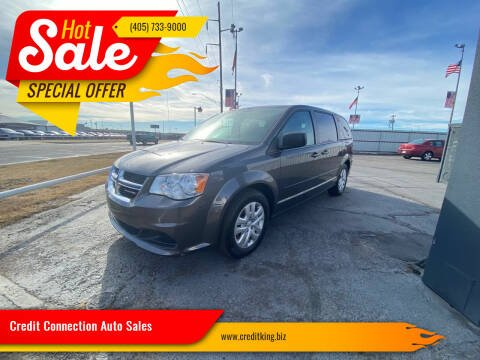 2017 Dodge Grand Caravan for sale at Credit Connection Auto Sales in Midwest City OK