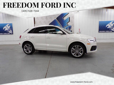 2018 Audi Q3 for sale at Freedom Ford Inc in Gunnison UT