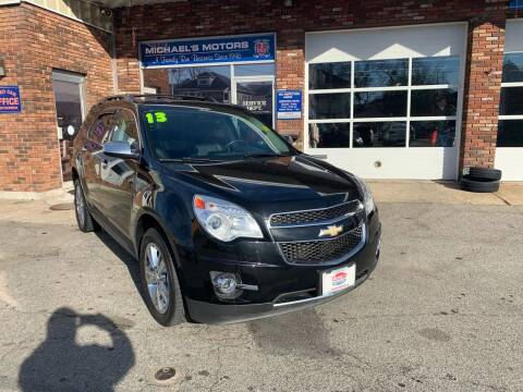 2013 Chevrolet Equinox for sale at Michaels Motor Sales INC in Lawrence MA