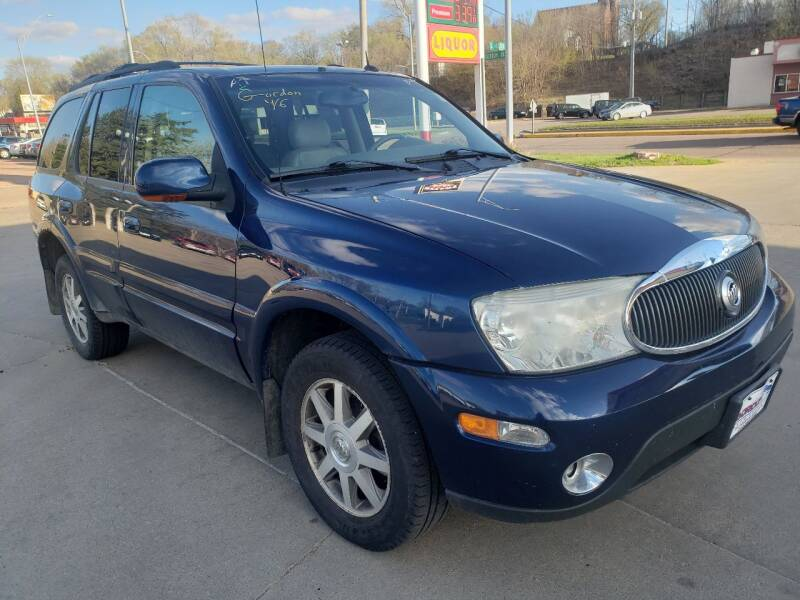 2004 Buick Rainier for sale at Gordon Auto Sales LLC in Sioux City IA