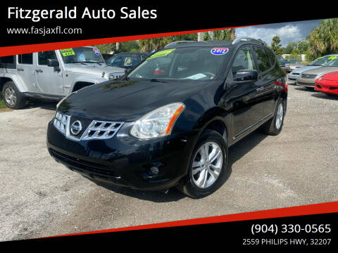 2012 Nissan Rogue for sale at Fitzgerald Auto Sales in Jacksonville FL