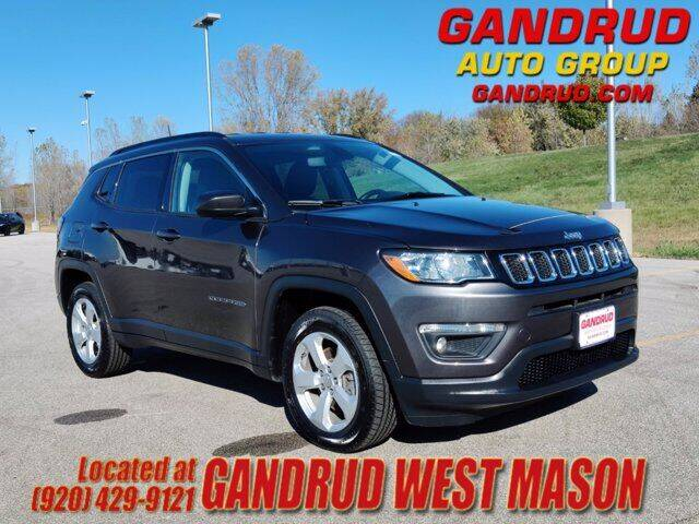 2019 Jeep Compass for sale at GANDRUD CHEVROLET in Green Bay WI