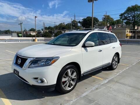 2013 Nissan Pathfinder for sale at JG Auto Sales in North Bergen NJ