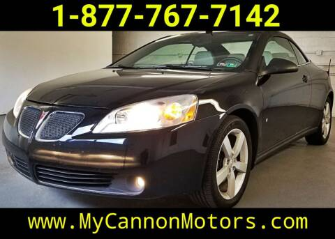 2008 Pontiac G6 for sale at Cannon Motors in Silverdale PA