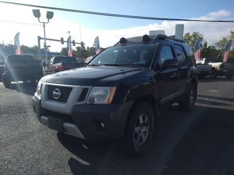 2012 Nissan Xterra for sale at P J McCafferty Inc in Langhorne PA