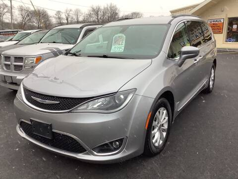 2017 Chrysler Pacifica for sale at Motuzas Automotive Inc. in Upton MA