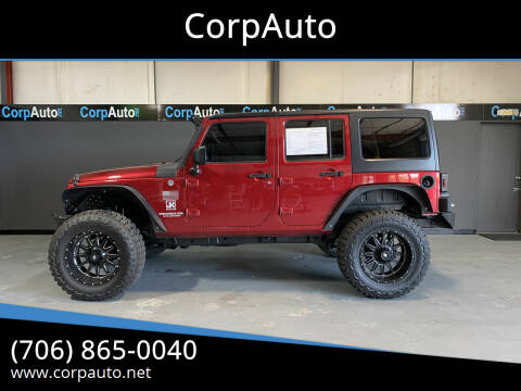 2011 Jeep Wrangler Unlimited for sale at CorpAuto in Cleveland GA