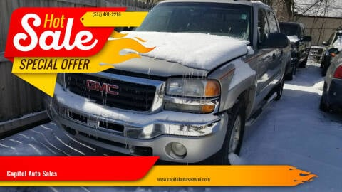 2006 GMC Sierra 1500 for sale at Capitol Auto Sales in Lansing MI