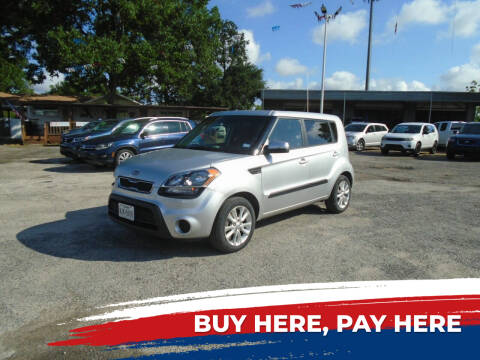 2012 Kia Soul for sale at J & F AUTO SALES in Houston TX