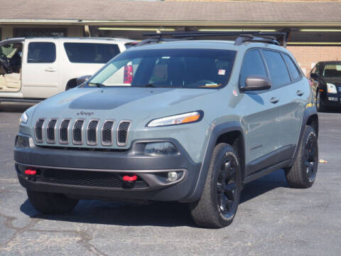 2015 Jeep Cherokee for sale at Tom Roush Budget Westfield in Westfield IN
