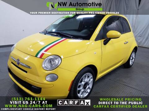 2012 FIAT 500 for sale at NW Automotive Group in Cincinnati OH