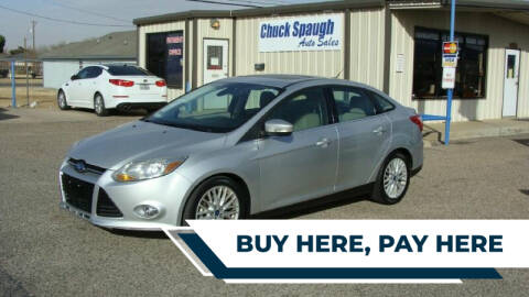 2012 Ford Focus for sale at Chuck Spaugh Auto Sales in Lubbock TX
